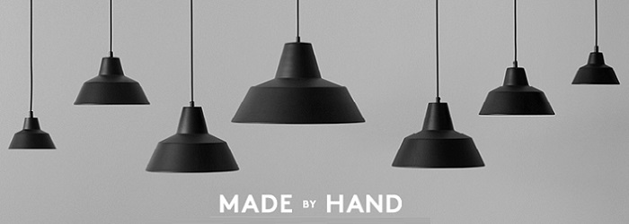 Made By Hand The work shop lamp